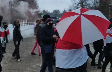 Курасовщина вышла на крутой марш со спецэффектами
