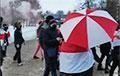 Курасоўшчына выйшла на смелы марш са спецэфектамі