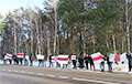 Салігорскія шахцёры выйшлі на акцыю салідарнасці