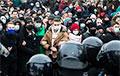 Кіраўнік штабоў Навальнага ацаніў колькасць удзельнікаў пратэстаў па ўсёй Расеі ў 250-300 тысяч чалавек