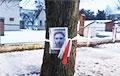 Более 100 портретов политзаключенных развесили на деревьях в Барановичах