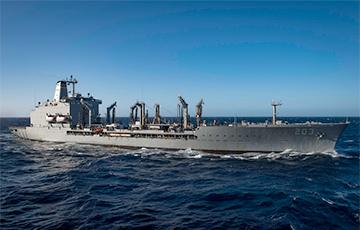 В Черное море вошел танкер США
