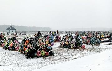На новом городском кладбище под Пинском почти не осталось свободных мест