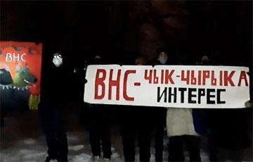 Жители Тракторного поселка в Минске записали бодрое обращение к белорусам
