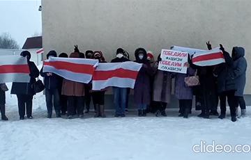 Минские пенсионеры вышли на акцию протеста