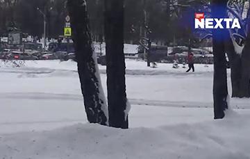 Минские водители сигналят в знак протеста
