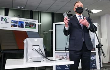 В Польше изобрели прибор, мгновенно выявляющий COVID-19 в дыхании человека