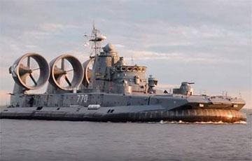 Россия лишается последних десантных кораблей на воздушной подушке типа «Зубр»