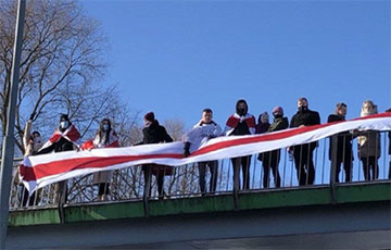 Белорусы Щетина поддержали борющихся за свободу соотечественников
