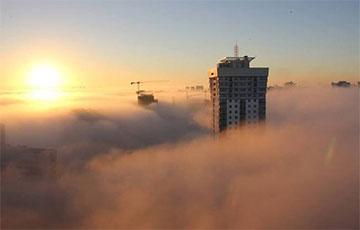 В воскресенье вся Беларусь утонет в тумане0
