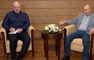 СМИ: Лукашенко и Путин поругались в Сочи