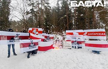 В Минске появился памятник Героям, отдавшим жизнь за Беларусь