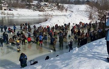 В Гродно ликвидировали самое рыбное место, где на 50 «квадратов» было около ста рыбаков