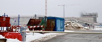 Стройка «Газпром-центра» остановлена: итальянский застройщик разбирает краны и со скандалом уходит