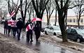Менскія мікрараёны Розачка і Грушаўка выйшлі на супольны марш