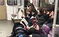 Пассажиры минского метро провели акцию солидарности