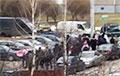 Жители Сухарево с самого утра вышли на воскресный марш