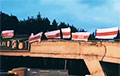 Партизаны Ангарской и Тракторного «захватили» мост в Минске