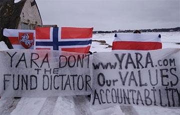 Солигорск вышел на акцию и сделал мощное заявление для Yara
