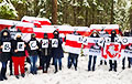 Протестующие белорусы попрощались с зимой и встречают весну