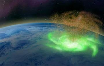 В небе над Северным полюсом ученые впервые зафиксировали шторм из плазмы