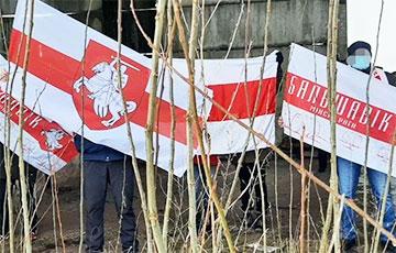 Партизаны Минского района провели серию дерзких акций