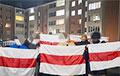 Партизаны новой Боровой вышли на акцию в поддержку смелых белорусок