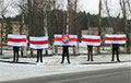 Жыхары Лідскага раёна сталі ў ланцуг салідарнасці