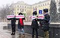 Мянчанкі выйшлі на акцыю салідарнасці і пратэсту