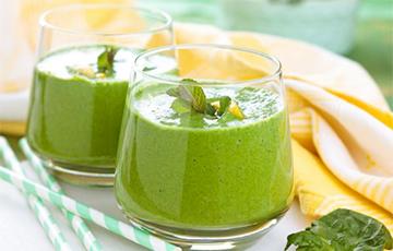 Названы четыре лучших зеленых смузи для снижения высокого давления
