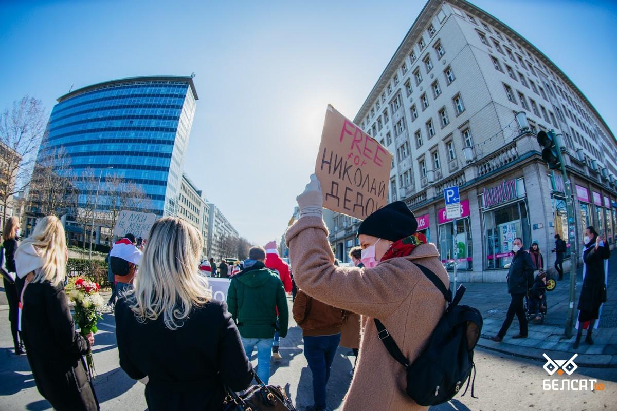 В Берлине прошла акция солидарности с белорусскими женщинами6