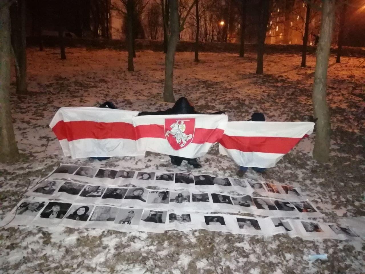 Как в Беларуси протестовали 8 марта1