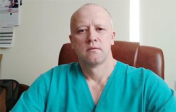 Выдающийся врач увольняется в знак солидарности с анестезиологом-реаниматологом из Витебска Владимиром Мартовым