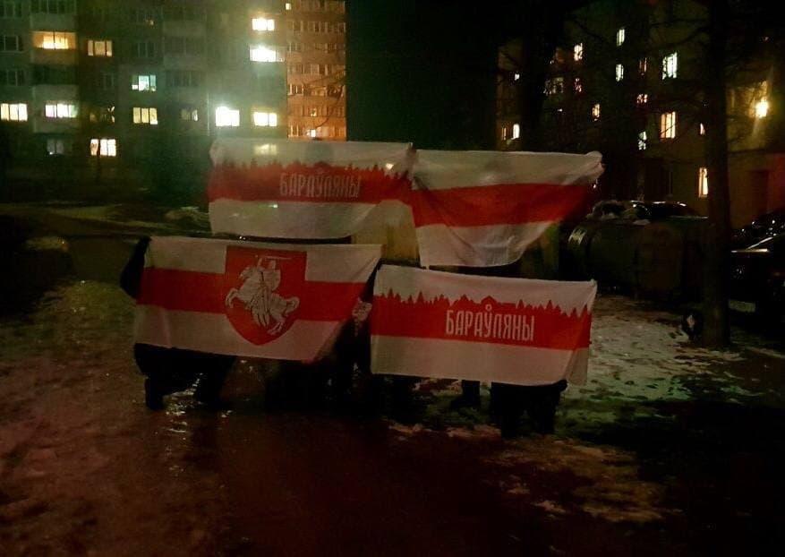 Вечерние протесты продолжаются в Беларуси1