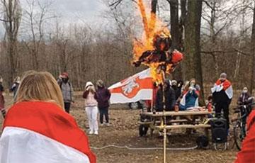 Видеофакт: Как белорусы встречали протестную Масленицу