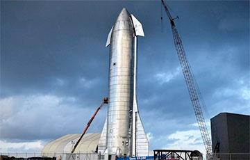 Тест-полет космического корабля Илона Маска Starship SN11: трансляция