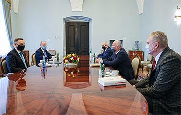 Анджей Дуда встретился с представителями белорусского национального меньшинства в Польше