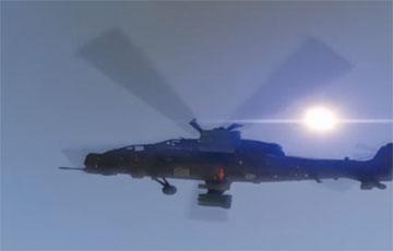 Армия Китая провела учения ударных вертолетов возле границы с Индией