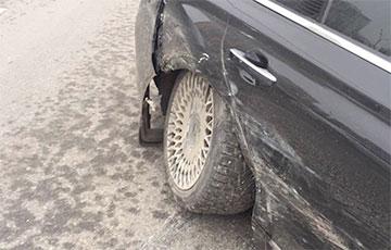 Машина пресс-секретаря Путина попала в ДТП с такси