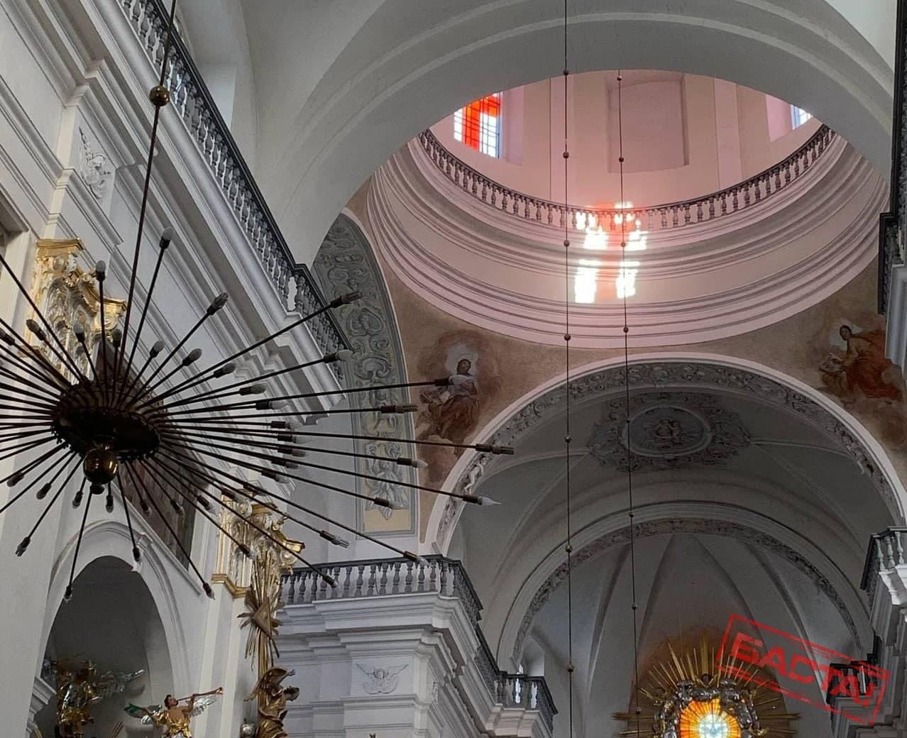 В Гродненском костеле сегодня увидели позитивный знак для Беларуси1