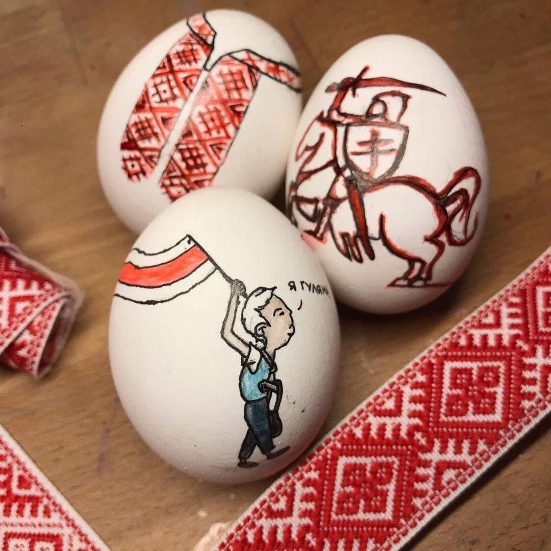 Белорусы празднуют Пасху с национальным колоритом1