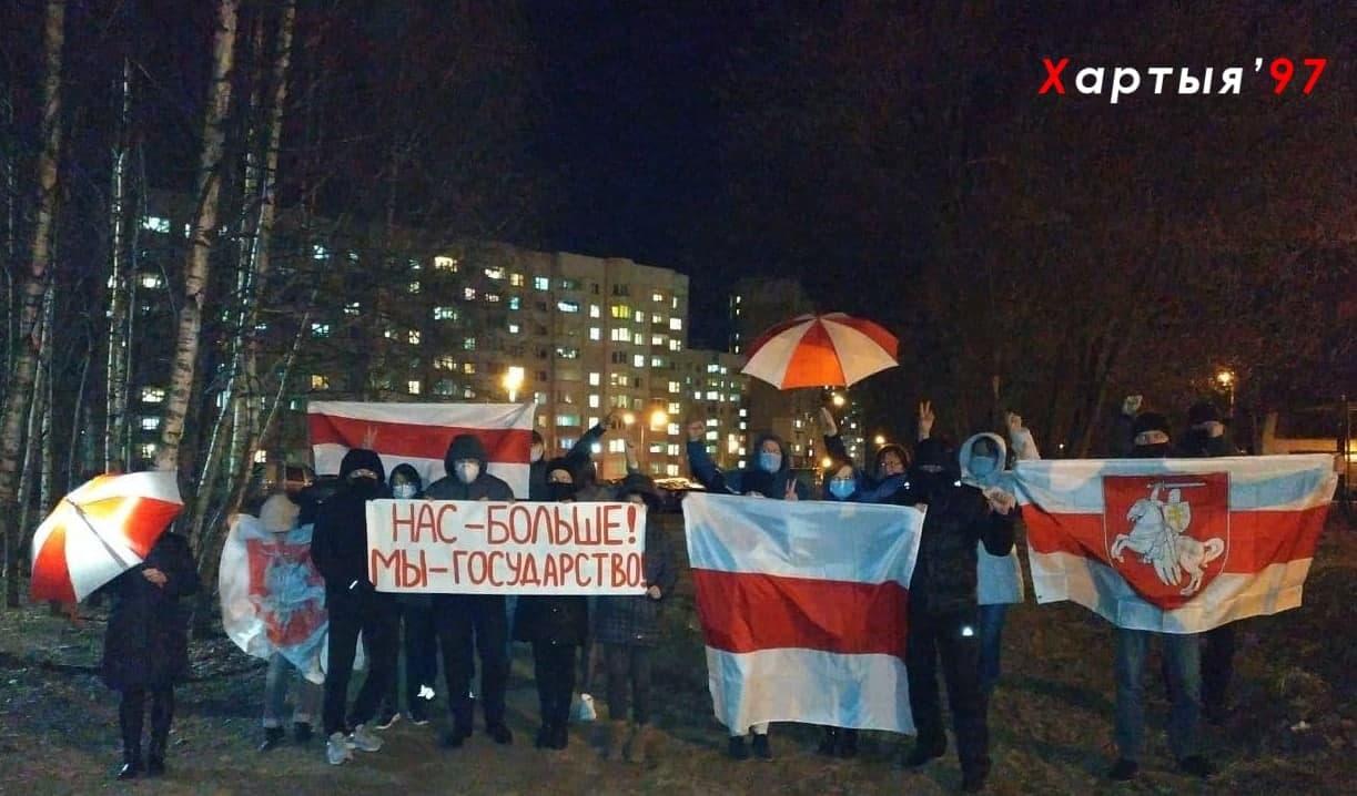 В Беларуси прошли воскресные акции протеста1