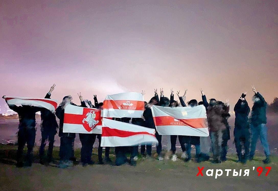 Партизаны Лебяжьего вышли на вечернюю акцию1