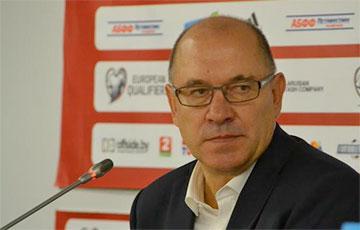Назван исполняющий обязанности главного тренера сборной Беларуси по футболу