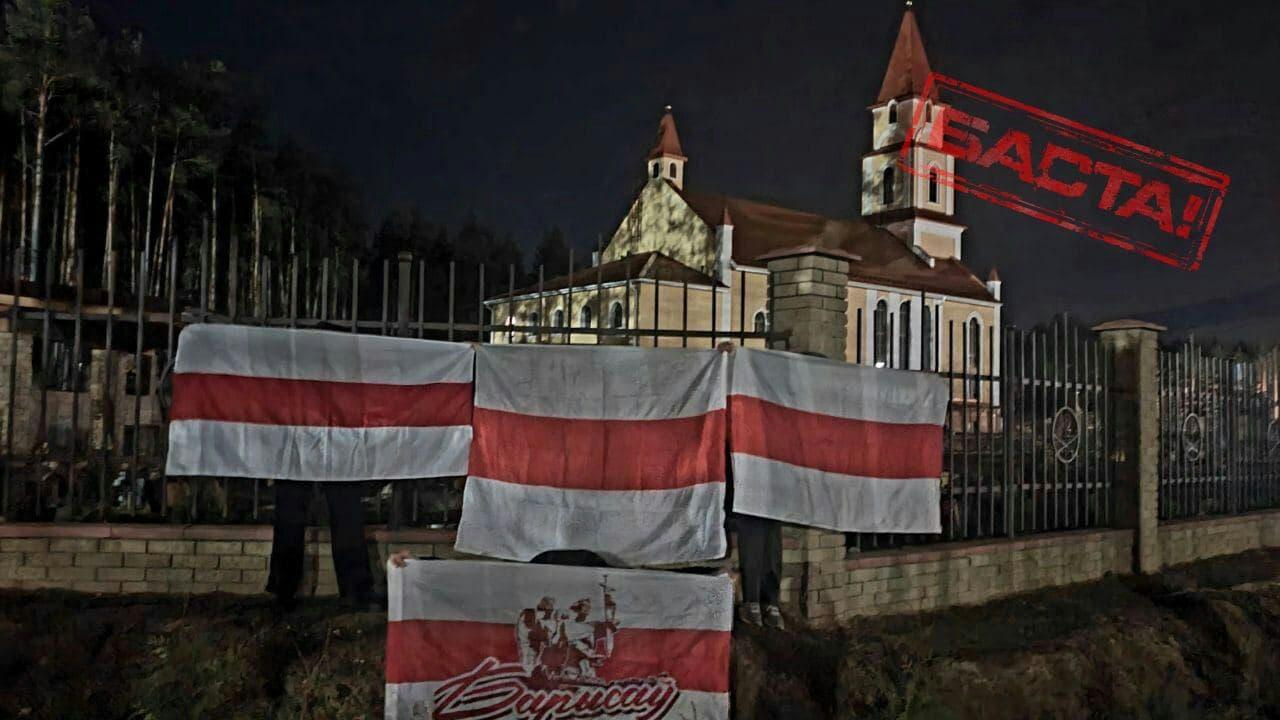 Белорусы выходят на вечерние протесты2