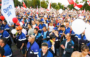 Hrodna Azot Worker: Occupation Strike Will Put Usurper At Stand And Lead To Victory
