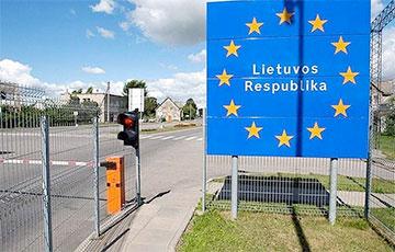 На границе Беларуси с Литвой сегодня не оформляют транспорт