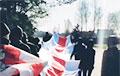 Жыхары Бараўлянаў выйшлі на марш у падтрымку Віктара Бабарыкі