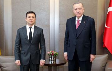 Переговоры Зеленского и Эрдогана длились три часа