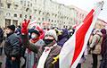 «Каждый день сотни листовок, наклеек, граффити, и национальных флагов появляются по всей Беларуси»